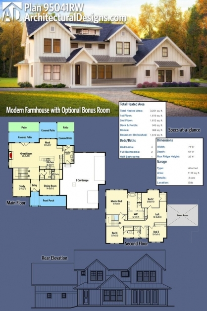 amazing the 25 best modern farmhouse plans ideas on pinterest farmhouse modern farmhouse plans pics - Modern Farmhouse Plans