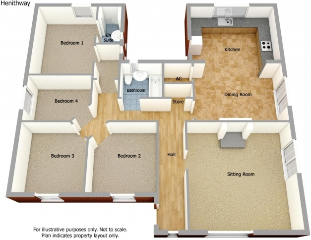Best 4 Bedroom Bungalow For Sale In Fakenham Road Docking Norfolk Pe31 Floor Plans Pictures