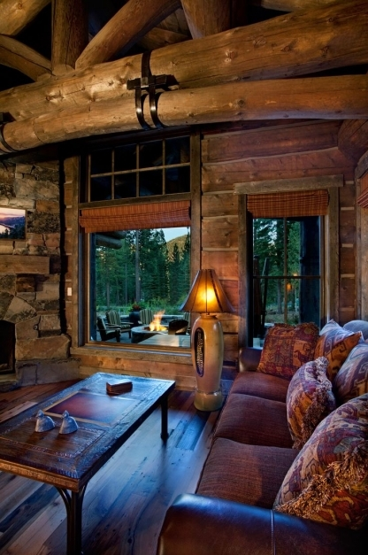 Best Best 25 Log Cabin Living Ideas Only On Pinterest Log Cabin Log Cabin Lighting Ideas Image