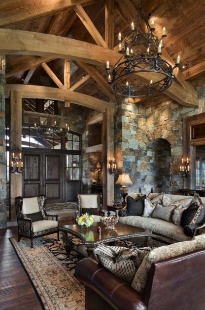 Mountain Home Interior Design - House Floor Plans