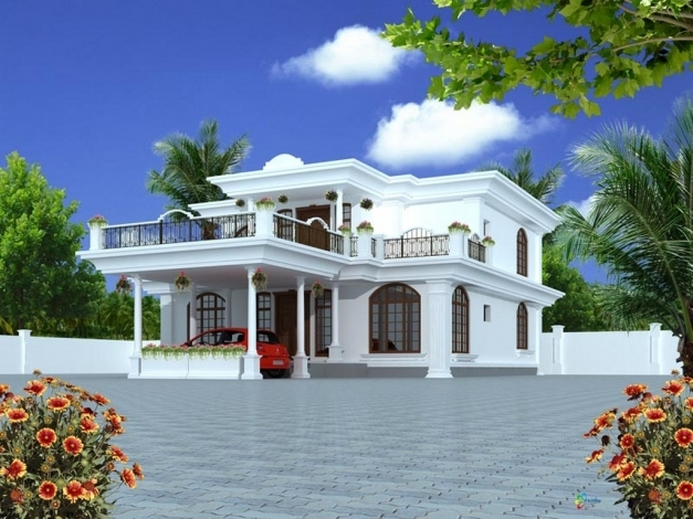 Fantastic Front House Designs Stylish Home Front Image