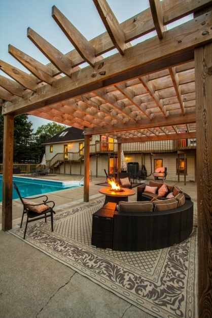 Fascinating Incredible Outdoor Patio Furniture Decoration Shows Cool Pergola Cool Pergola Ideas Images