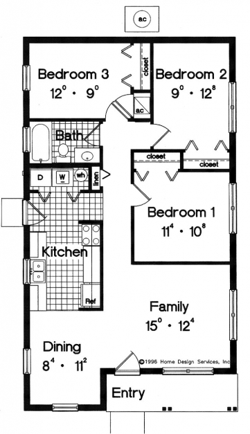 Gorgeous Best 25 Simple House Plans Ideas On Pinterest Simple Floor Simple Home Plans 3 Bedrooms Photos