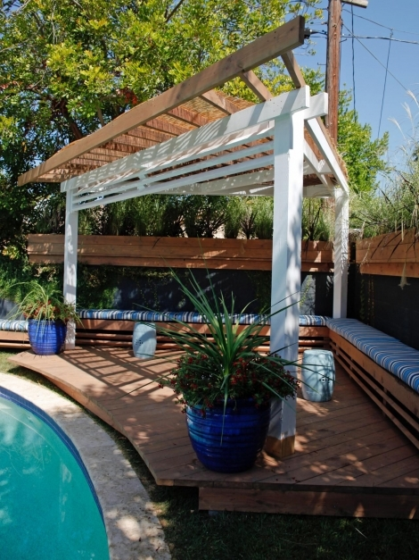 Inspiring Outdoor Gazebo Ideas Hgtv Cool Pergola Ideas Photos