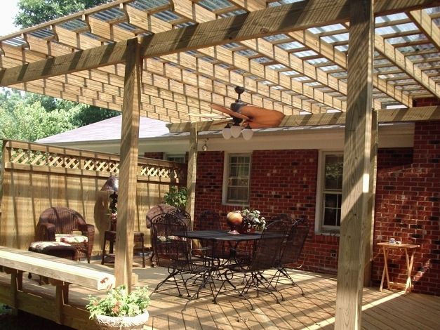 Marvelous Delightful Reclaimed Teak Wooden Pergola Kits Cool Pergola Ideas Cool Pergola Ideas Photos