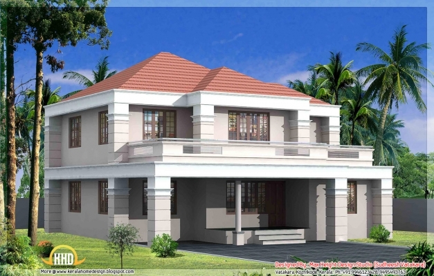 Marvelous Kerala Home Design At 3075 Sq Ft New Bellslovh Hahnow Kerala Home Elevation Images Pics
