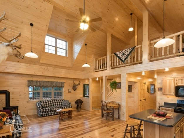 Marvelous Log Cabin Interior Ideas Home Floor Plans Designed In Pa Log Cabin Lighting Ideas Images