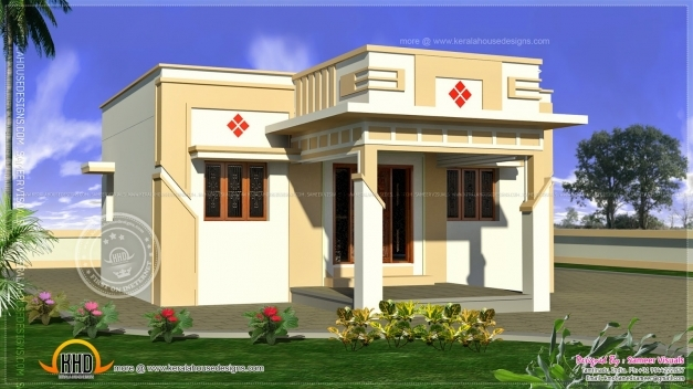 Outstanding 35 Small And Simple But Beautiful House With Roof Deck Tamilnadu House Single Floor Plans Photos