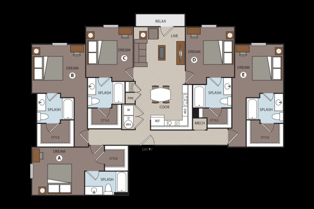 Stunning 28 5 Bedroom Apartments California State University 5 Bedroom Flat Com Pics