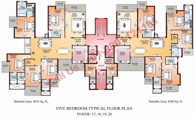 Stunning 5 Bedroom Flat Building Plan Home Ideas Decor 5 Bedroom Flat Com Images