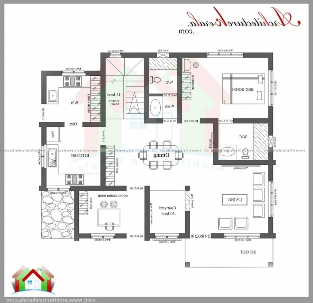 Smart home plan kerala house floor plans for 3 bedroom plan in kerala