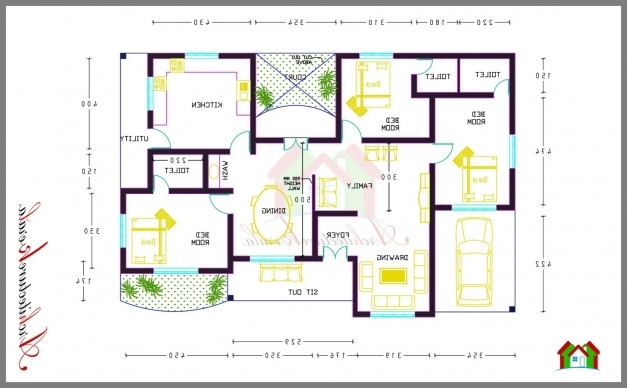 stunning home design 3 bedroom house smart and kerala on pinterest in smart home plan kerala