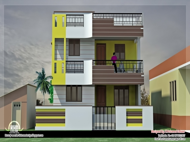 Indian small house design 2 bedroom room image and for Small house design for bangladesh