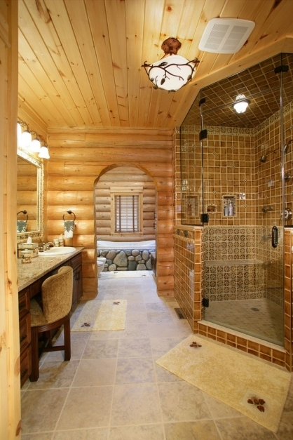 Stylish 152 Best Log Home Images On Pinterest Home Log Cabins And Log Cabin Lighting Ideas Picture