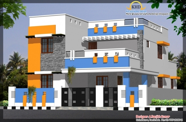 Front Elevation Designs Latest : Indian home front elevation design photo gallery house