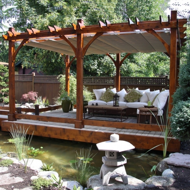 Stylish Cool Outdoor Home Furniture Design Featuring Prepossessing Pergola Cool Pergola Ideas Images