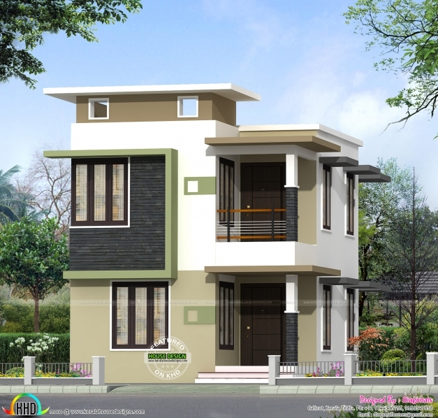 Awesome february 2012 kerala home design and floor plans for Front elevations of duplex houses