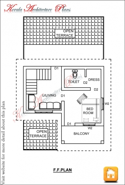 Awesome Kerala House Plans Sq Ft With Photos Khp Small House - 1200 square feet tiny house designs