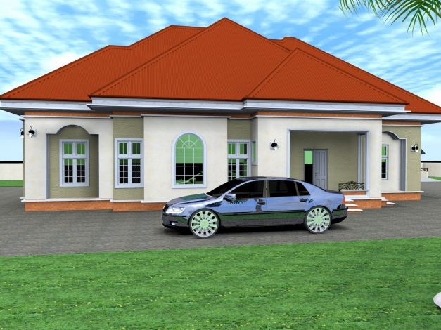 Best 6 bedroom bungalow house plans in nigeria modern for 6 bedroom modern house plans