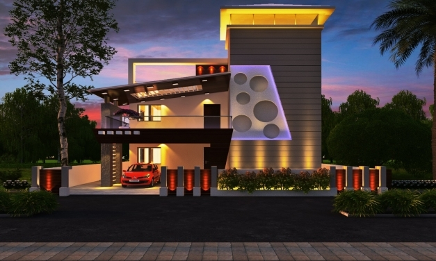 Best Free House Floor Plans Customize At Just Rs4000 Front Elevation Of Indian House 30x50 Site Pic