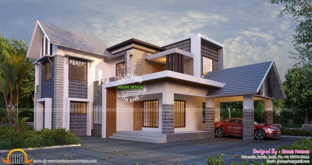 Best September 2015 Kerala Home Design And Floor Plans Stylish Houses In Kerala Pics