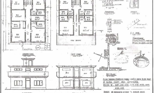 Delightful Building Design Plan And Elevation Homes Zone Residential Building Plan Section Elevation Picture
