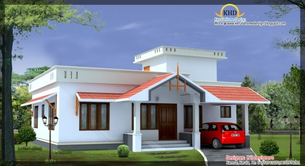 Kerala Style Home Front Elevation : Delightful house elevations kerala home design and trends