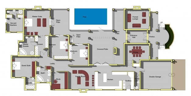 Fantastic Incredible Family House Plans South Africa 5 Sa Home Open Floor South African 5 Bedroom House Plans Image