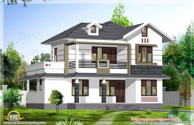Fantastic May 2012 Kerala Home Design And Floor Plans Stylish Houses In Kerala Pictures