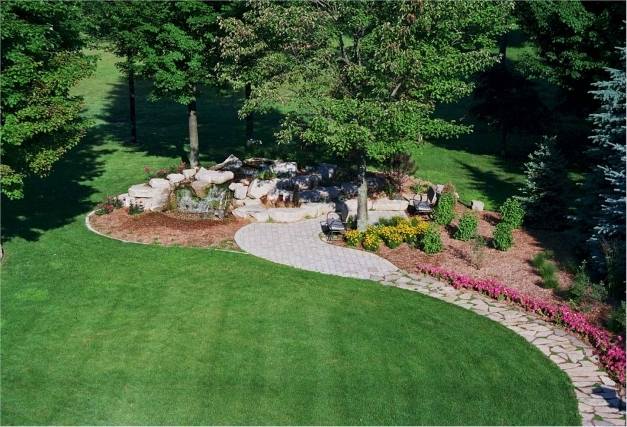 Fascinating Large Front Garden Design Ideas Video And Photos Large Front Garden Ideas Pic