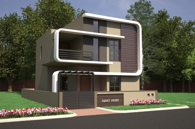 Inspiring 2 3 Bhk Residential Villas Dattagalli Mysore One Front Elevation Of Indian House 30x50 Site Images