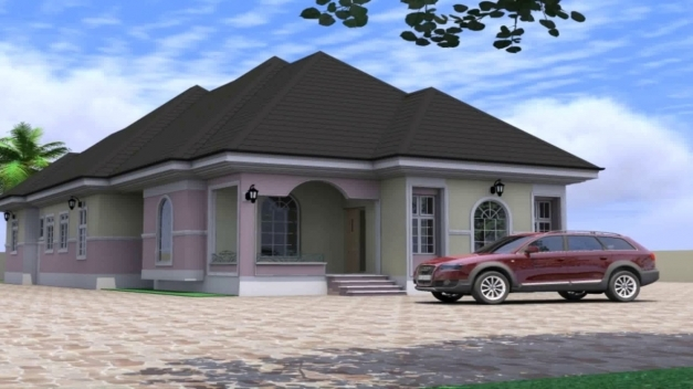 Inspiring 4 Bedroom Bungalow House Design In Nigeria Youtube Modern 3 Bedroom Flat Plan In Nigeria Image