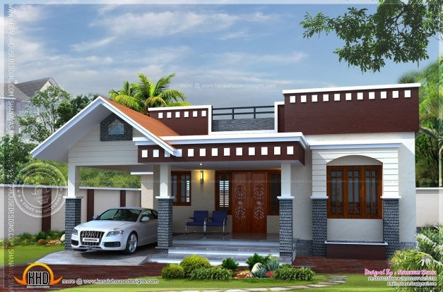 inspiring home plan of small house kerala home design and floor plans single floor house plans kerala style pics