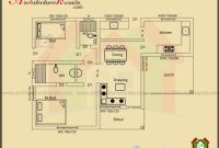 Marvelous Below 1000 Square Feet House Plan And Elevation Architecture Kerala House Plans Below 1000 Sq Ft Kerala Pics