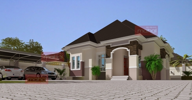 Remarkable Contemporary Nigerian Residential Architecture Modern 3 Bedroom Flat Plan In Nigeria Photo