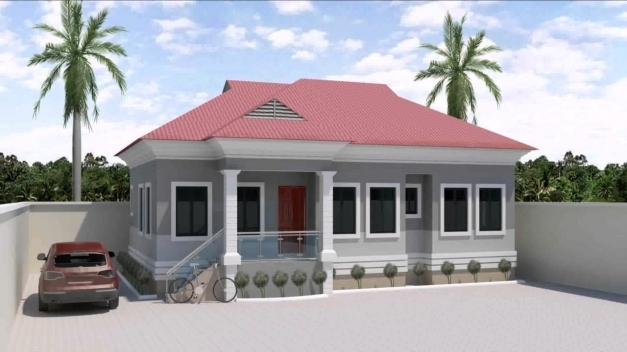 Stylish 3 Bedroom House Design In Nigeria Youtube Modern 3 Bedroom Flat Plan In Nigeria Pictures