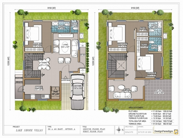 Stylish duplex house plans 30x50 south facing homes zone for Indian home map plan