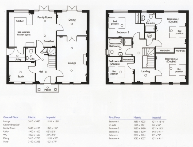 Awesome 4 Bedroom House Floor Plans Home Design Ideas Impressive 4 Bedroom Simple 4 Bedroom House Plans Photos
