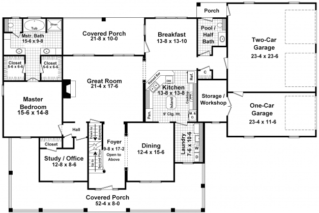 Awesome 5 Bedroom House Plans 1 Story 100 Images Floor Plans Guiapar Com Celebration House Plans Photo