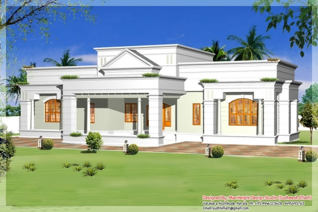 awesome single storey kerala house model plans building plans online kerala single floor houses image