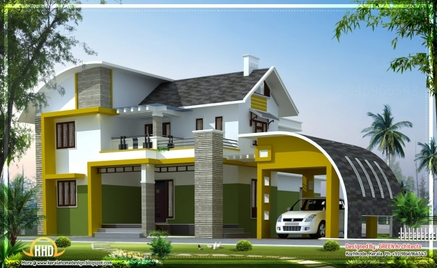Best Contemporary Villa In Kerala 2592 Sqft Home Appliance Images Of Contemporary Houses In Kerala Pic