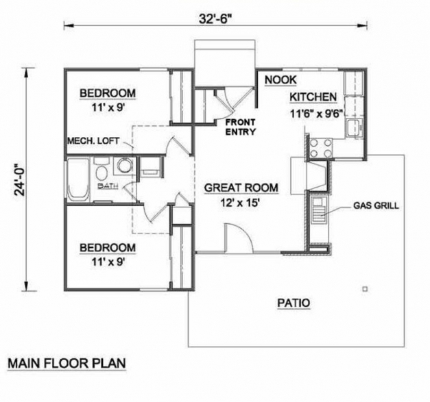 Best Skillful Ideas 11 115 Sq Feet House Plans Plan For 22 45 Plot 15 By 45 House Layout Plan Pictures