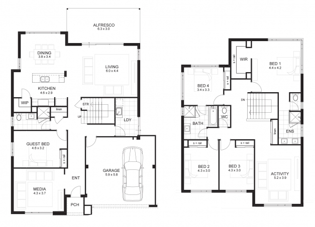 Gorgeous 3 Bedroom House Plan With Double Garage Getpaidforphotos Guiapar Com Celebration House Plans Photo