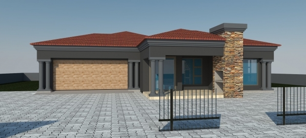 Gorgeous Modern 3 Bedroom House Plans In South Africa Memsaheb South Africa Modern 3bedroom House Pics