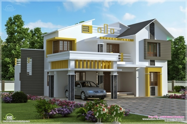 Inspiring Kerala Contemporary Villa With 4 Bedroom Kerala Home Design And Images Of Contemporary Houses In Kerala Photos
