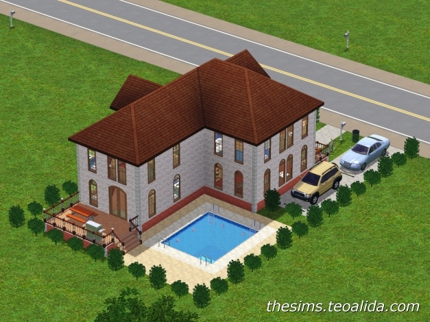 Inspiring L Shaped House The Sims Fan Page L Shaped House Pictures Photo