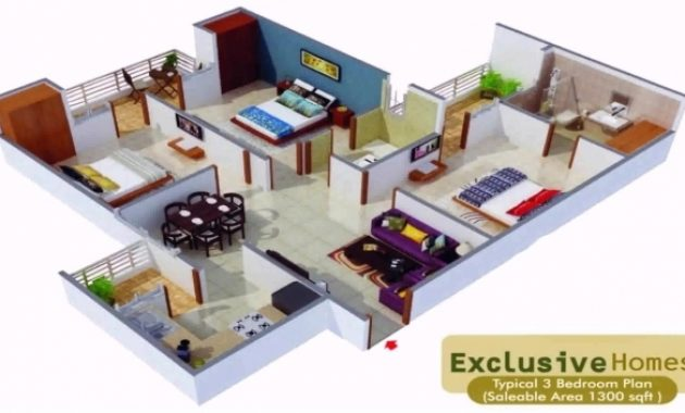 Outstanding House Plans In 1000 Sq Ft Indian Style Youtube 1300 Sq Ft House Plans Indian Image