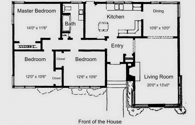 Stunning Stunning Idea 3 Bedroom Dream House Plans Simple House Plans Simple House Plan With 3 Bedrooms Pics