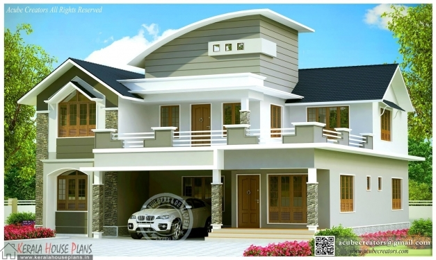 Wonderful Beautiful Contemporary House Design Kerala Kerala House Plans Images Of Contemporary Houses In Kerala Photo
