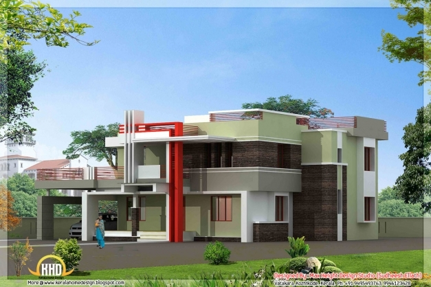 ... Awesome 2 Kerala Model House Elevations Home Appliance New House  Elevation Pics ...